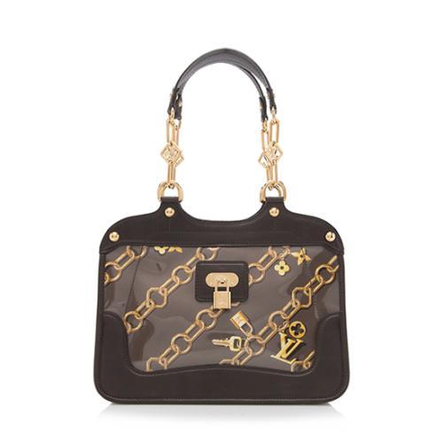 Louis Vuitton Limited Edition Monogram Charms Cabas Shoulder Bag