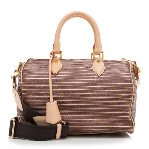 279b994f2252 Louis-Vuitton-Limited-Edition-Monogram-Eden-Speedy -Satchel 91094 front large 1.jpg