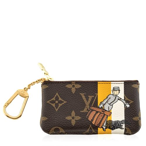 Louis Vuitton Limited Edition Monogram Groom Pochette Cles Coin Wallet