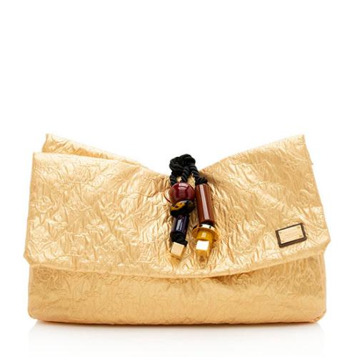 Louis Vuitton Limited Edition Monogram Limelight African Queen Clutch