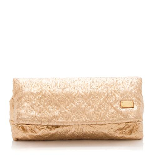 Louis Vuitton Limited Edition Monogram Limelight MM Clutch
