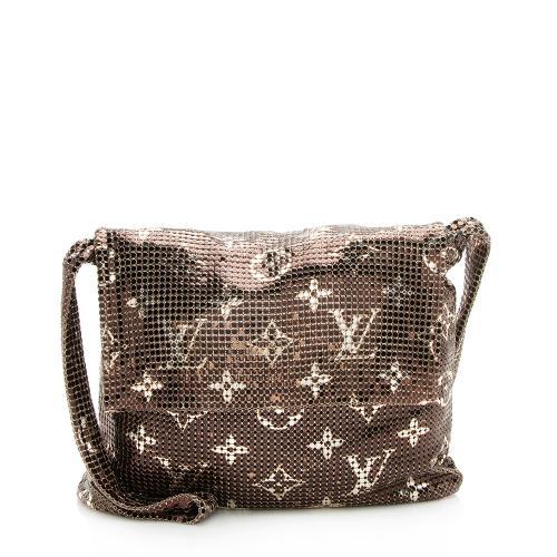 Louis Vuitton Limited Edition Monogram Mesh Frances Crossbody Bag