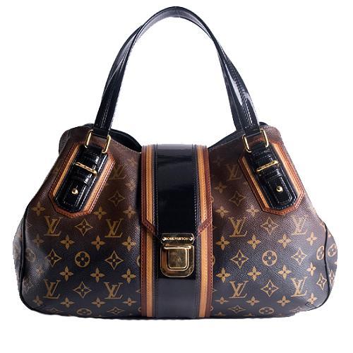 Louis Vuitton Limited Edition Monogram Mirage Griet Satchel Handbag