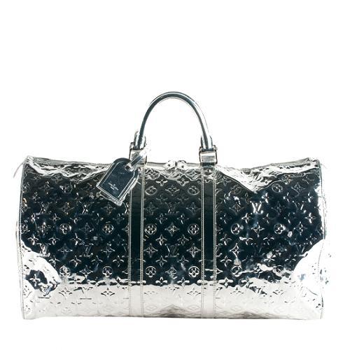 184299386387 Louis-Vuitton-Limited-Edition-Monogram-Miroir-Keepall-55-Duffle-Bag --FINAL-SALE 56493 front large 1.jpg