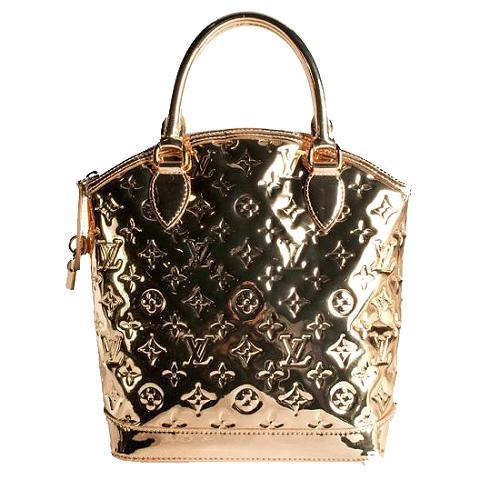 Louis Vuitton Limited Edition Monogram Miroir Lockit Satchel Handbag
