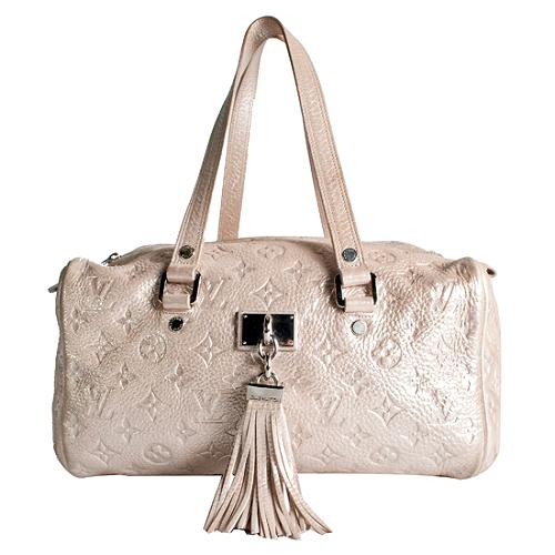 Louis Vuitton Limited Edition Monogram Shimmer Comete Satchel Handbag
