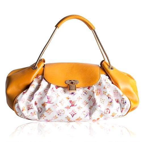 Louis Vuitton Limited Edition Monogram Watercolor Jamais Handbag