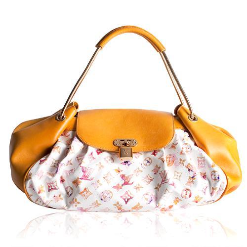 Louis Vuitton Limited Edition Monogram Watercolor Jamais Satchel Handbag
