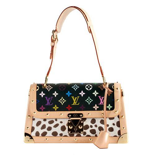 Louis Vuitton Limited Edition Multicolore Dalmatian Sac Rabat Shoulder Handbag