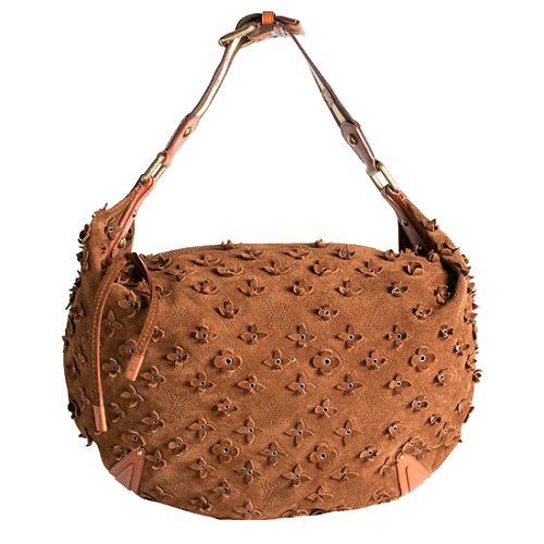 Louis Vuitton Limited Edition Onatah Fleurs GM Hobo Handbag