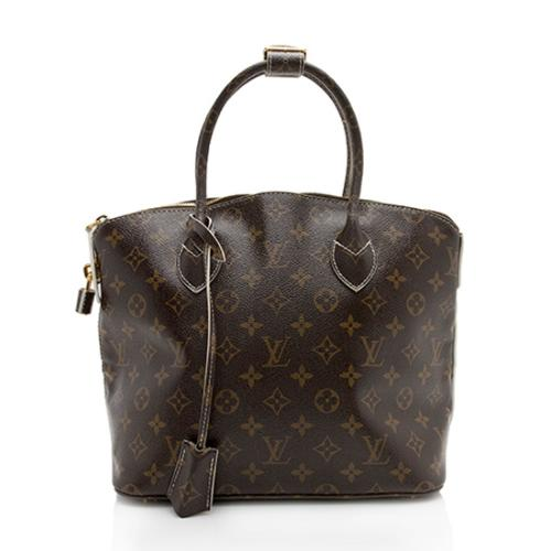 Louis Vuitton Limited Edition Patent Monogram Canvas Fetish Lockit Satchel