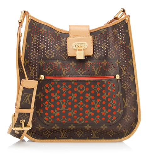 Louis Vuitton Limited Edition Perforated Monogram Canvas Musette Shoulder  Bag
