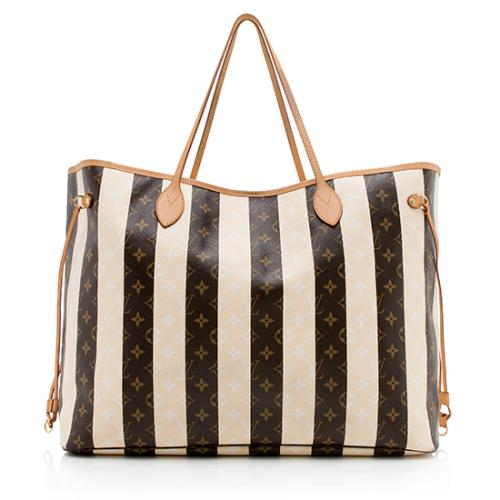 Louis Vuitton Limited Edition Rayures Neverfull XL Tote
