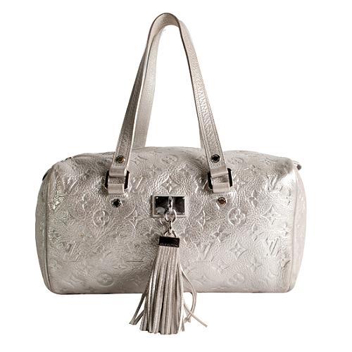 Louis Vuitton Limited Edition Shimmer Comete Satchel Handbag