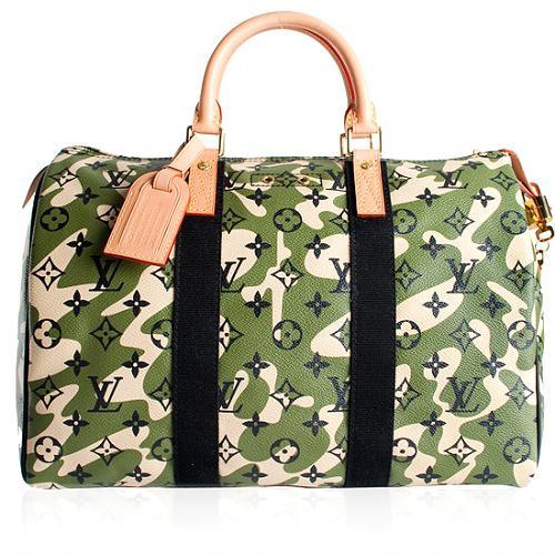 Louis Vuitton Limited Edition Speedy 35 Monogramouflage Handbag