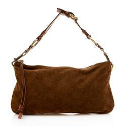 Louis Vuitton Limited Edition Suede Monogram Onatah Pochette Shoulder Bag