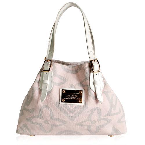 Louis Vuitton Limited Edition Tahitienne Cabas MM Shoulder Handbag