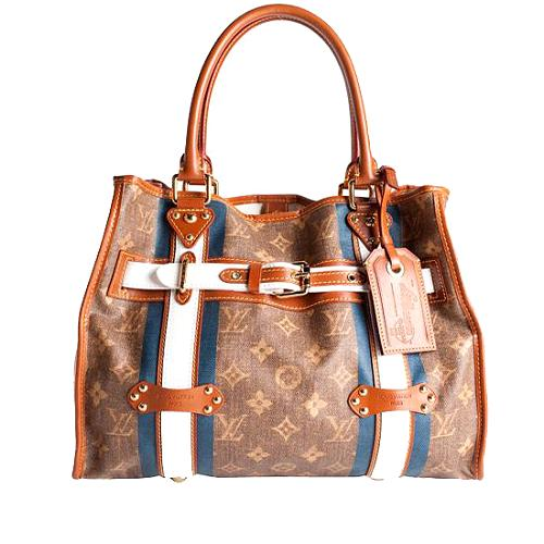 Louis Vuitton Limited Edition Tisse Rayures GM Tote