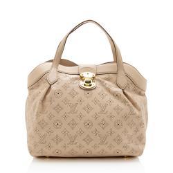 Louis Vuitton Mahina Leather Cirrus PM Satchel
