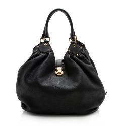 Louis Vuitton Mahina Leather L Hobo