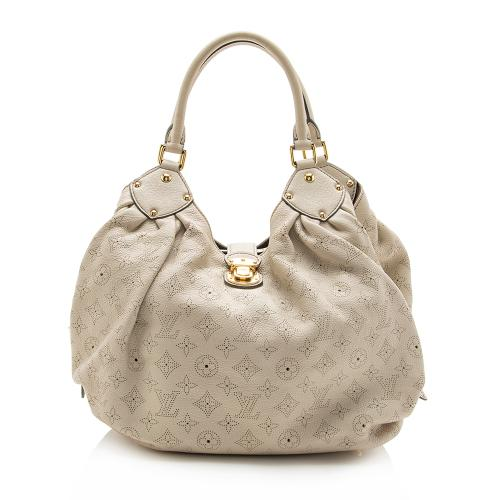 Louis Vuitton Mahina Leather L Hobo