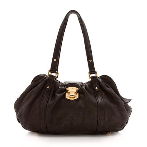 Louis Vuitton Mahina Leather Lunar PM Shoulder Bag