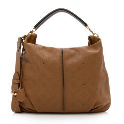 Louis Vuitton Mahina Leather Selene MM Shoulder Bag