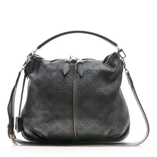 Louis Vuitton Mahina Leather Selene PM Shoulder Bag