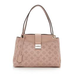 Louis Vuitton Mahina Leather Sevres Satchel