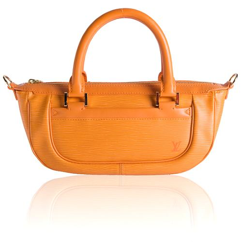 Louis Vuitton Mandarin Epi Leather Dhanura PM Satchel Handbag