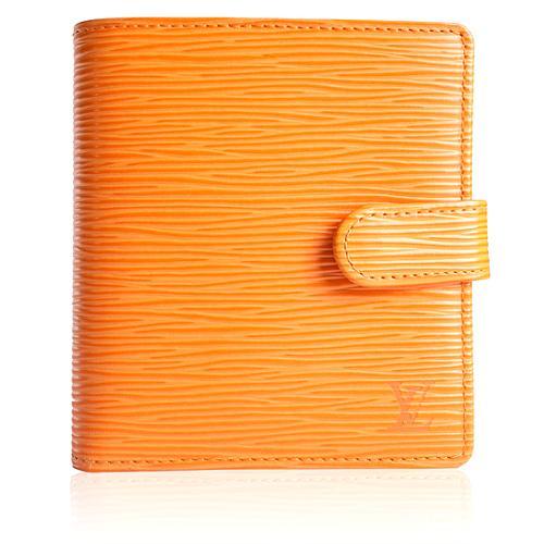Louis Vuitton Mandarin Epi Leather Porte-Billets Compact Wallet