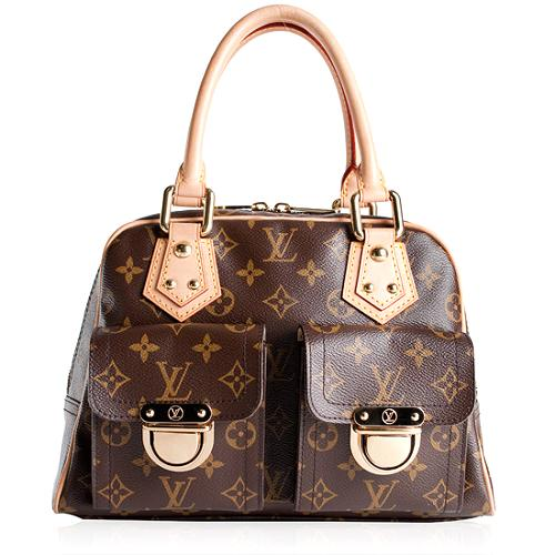 Louis Vuitton Manhattan PM Satchel Handbag
