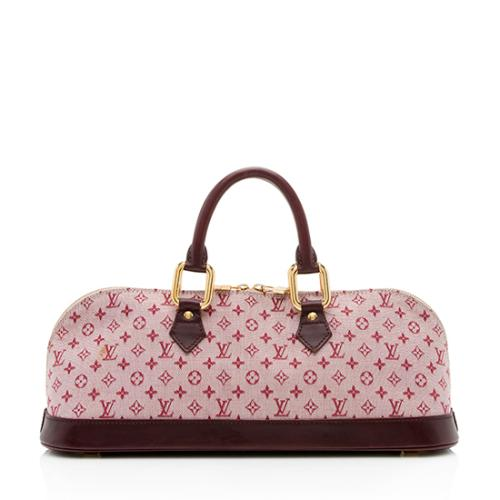 47a2d4d19bfc Louis Vuitton Mini Lin Alma Horizontal Satchel