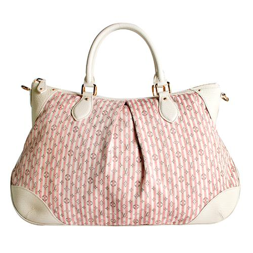 Louis Vuitton Mini Lin Croisette Marina GM Satchel Handbag