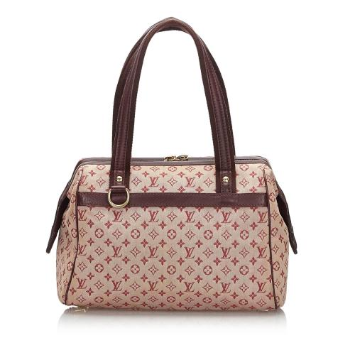 Louis Vuitton Mini Lin Josephine PM Satchel