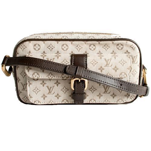Louis Vuitton Mini Lin Monogram Juliette Crossbody Shoulder Handbag