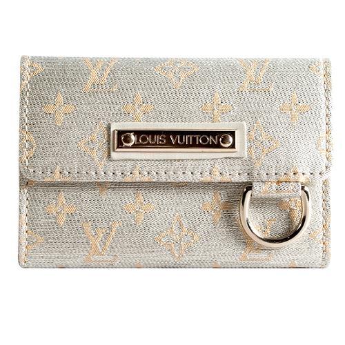 Louis Vuitton Mini Lin Shine Porte Monnaie Wallet