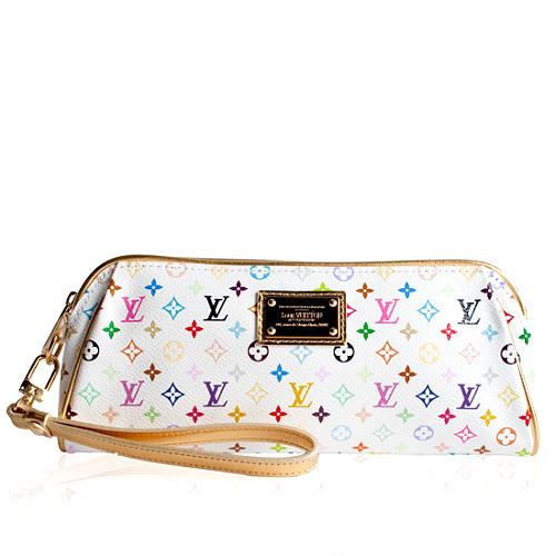 Louis Vuitton Mini Monogram Multicolore Kate Clutch