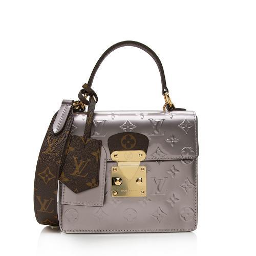 Louis Vuitton Miroir Vernis Spring Street Bitume Satchel