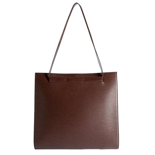 Louis Vuitton Moka Epi Leather Saint Tropez Shoulder Handbag