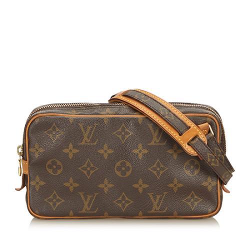Louis Vuitton Mongram Canvas Marly Bandouliere Shoulder Bag