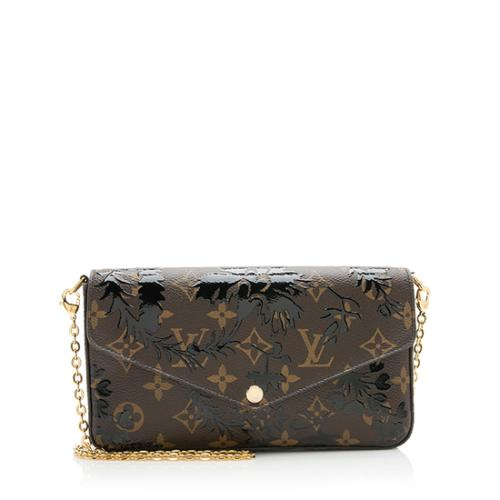 c00622a22c4 Louis Vuitton Monogram Blossom Canvas Felicie Wallet On Chain Bag