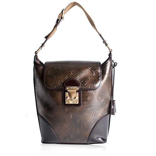 Louis Vuitton Monogram Bronze Sergent GM Hobo Handbag