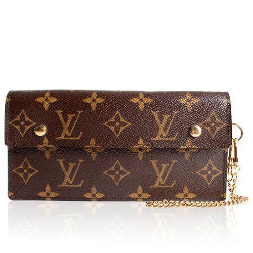 Louis Vuitton Monogram Canvas Accordion Clutch Wallet