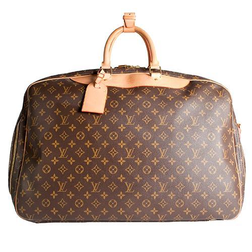 Louis Vuitton Monogram Canvas Alize 2-Compartment Luggage