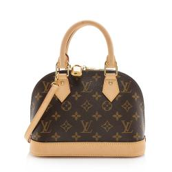 Louis Vuitton Monogram Canvas Alma BB Satchel