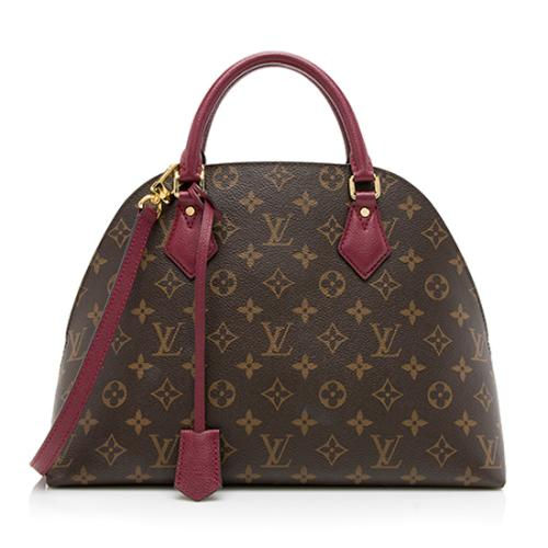 Louis Vuitton Monogram Canvas Alma BNB Satchel