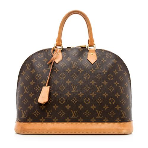 Louis Vuitton Monogram Canvas Alma MM Satchel