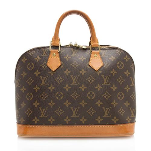 Louis Vuitton Monogram Canvas Alma PM Satchel - FINAL SALE