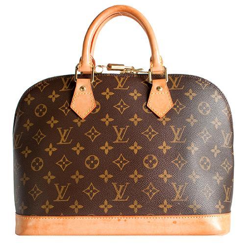Louis Vuitton Monogram Canvas Alma PM Satchel Handbag